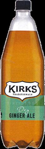 null Kirks Dry Ginger Ale Sgl1.25LT