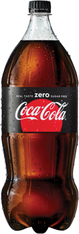 null Coca Cola Zero Bottle 1X2LT