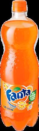 null Fanta Orange Btl Single 2LT