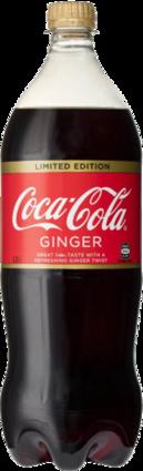 null Coca Cola Ginger Bottle Sgl1.25LT