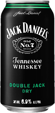 null Jack Daniels Double Jack & Dry Can 24X375ML