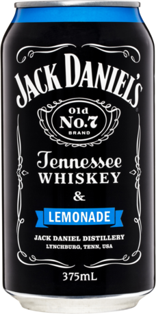 null Jack Daniels Tennessee Whiskey & Lemonade Can 4X375ML