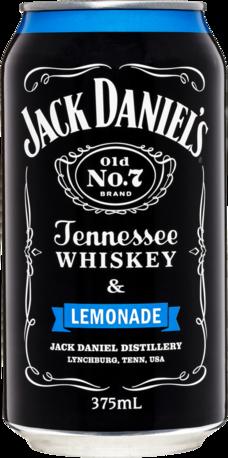 null Jack Daniels Tennessee Whiskey & Lemonade Can 4X375ML