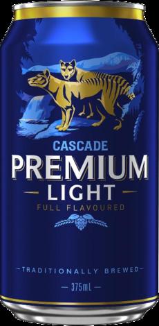 null Cascade Premium Light Can 6X375ML