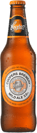 null Coopers Mild Ale Bottle 24X375ML