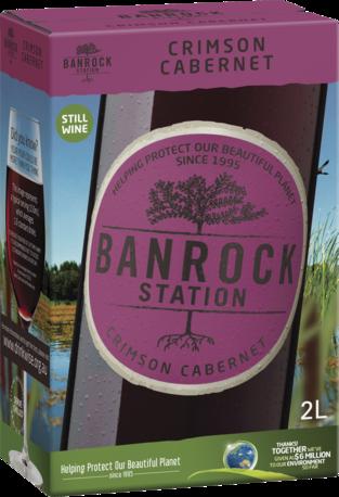 null Banrock Station Crimson Cabernet Cask 2LT