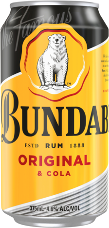 null Bundaberg Rum UP & Cola 4.6% Can 10X375ML