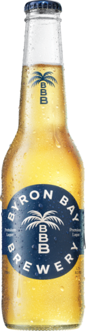 Byron Bay Premium Lager Bottle 24X355ML