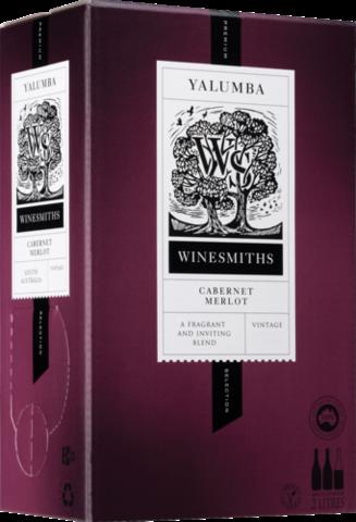 null Winesmiths Premium Selection Cabernet Merlot Cask 2LT