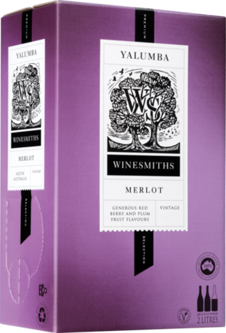 null Winesmiths Premium Selection Merlot Cask 2LT