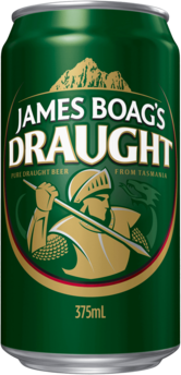 null Boags Draught Can 24X375ML
