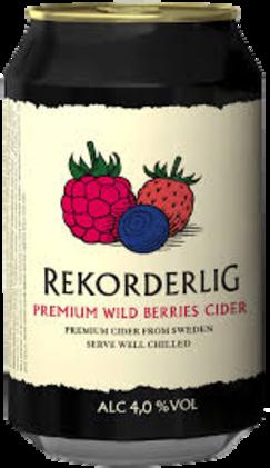 null Rekorderlig Wildberry Can 4X330ML
