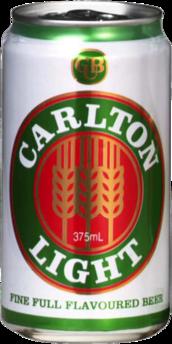 null Carlton Light Can 24X375ML