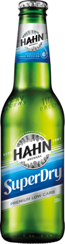 null Hahn Super Dry 4.6% Bottle 24X330ML