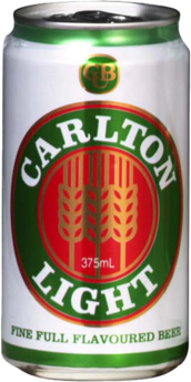 null Carlton Light Can 30X375ML