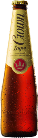 null Crown Lager 24 x 375mL Bottles