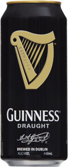 null Guinness Draught Can 24X440ML