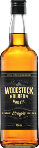 null Woodstock Bourbon 37% 700ML