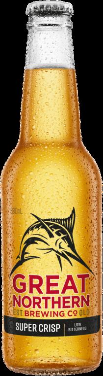 null Great Northern Super Crisp 3.5% Bottle 24X330ML