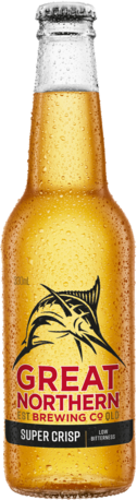 null Great Northern Super Crisp 3.5% Bottle 6X330ML