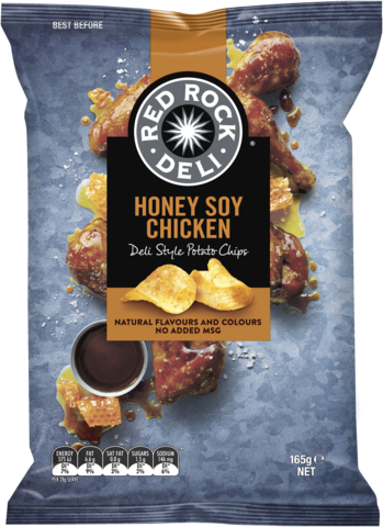 null Red Rock Hny/Soy Chicken 165gm