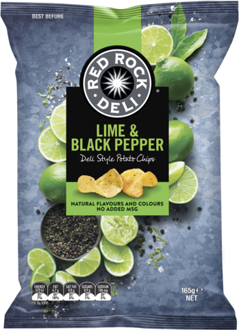 null Red Rock Lime Black  Pepper 165gm