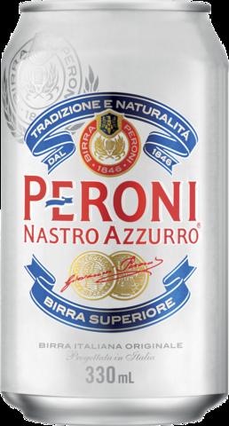 null Peroni Nastro Azzurro Can 24X330ML