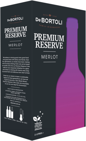 null De Bortoli Reserve Merlot Cask 2LT