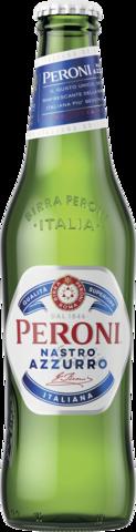 null Peroni Nastro Azzurro Bottle 24X330ML