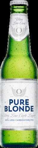 null Pure Blonde Bottle 24X355ML