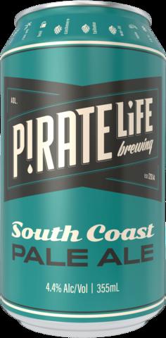 Pirate Life Brewing South Coast Pale Ale 16x355mL