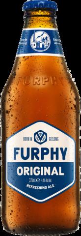 null Furphy Refreshing Ale Bottle 6X375ML
