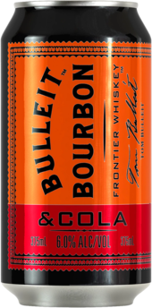 null Bulleit 6% Batch Cola 4X330ML
