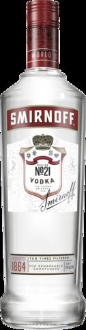 null Smirnoff Red Vodka 1LT