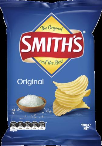 null Smiths Crinkle Original 170gm