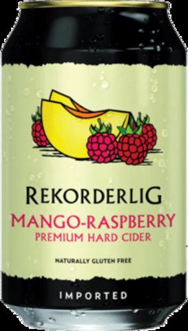 null Rekorderlig Mang/Rasp Cider Can 4X330ML