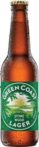 null STONE & WOOD GREEN COAST PALE LAGER 6X330ML