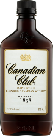 null Canadian Club Whisky 375ML