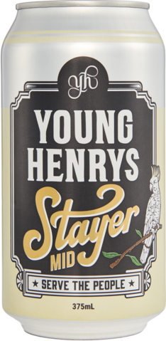 null Young Henrys Stayer Mid Can 24X375ML