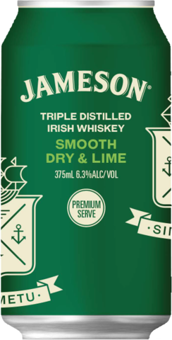 null Jameson Dry & Lime 6.3% 10X375ML