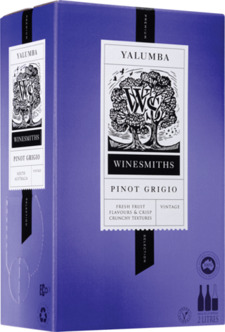 null Winesmiths Premium Selection Pinot Grigio Cask 2LT