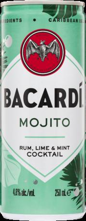 Bacardi Mojito Can 4X250ML
