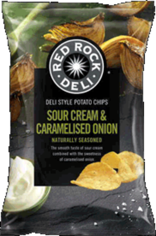 null Red Rock S/Crm Car/Onion 165gm