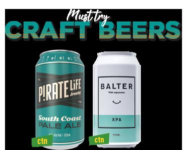 Craft Beers ACT