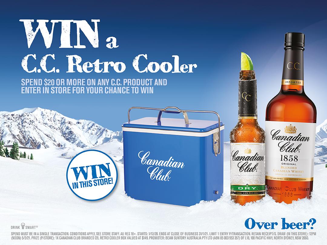 Win a C.C. Retro Cooler