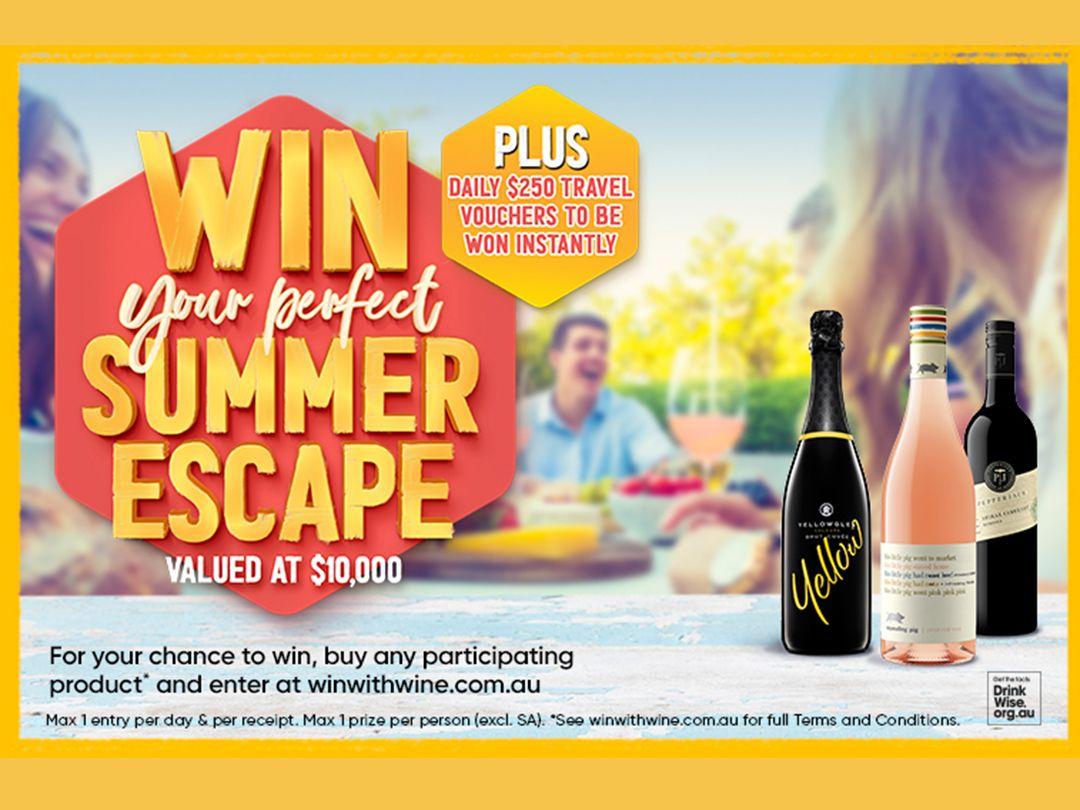 Win your Perfect Summer Escape - Treasury Competition