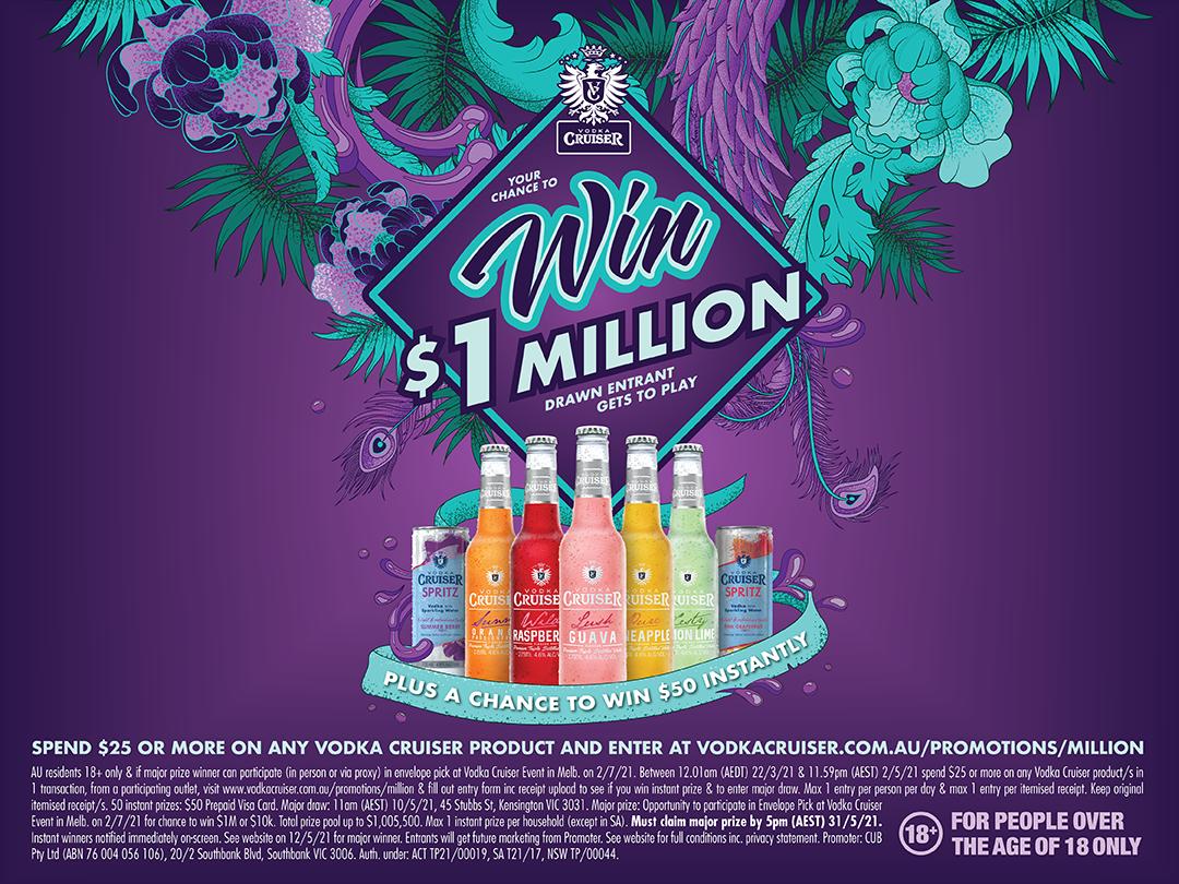 Vodka Cruiser $1M