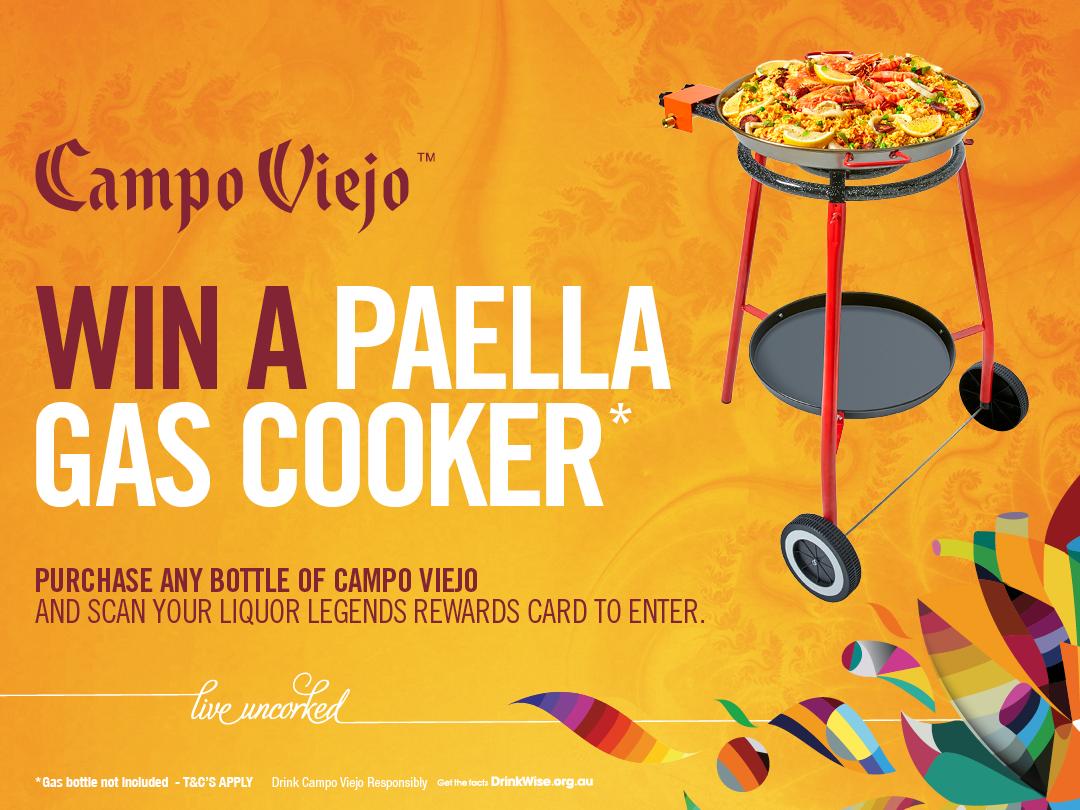 Win a Paella Gas Burner Set