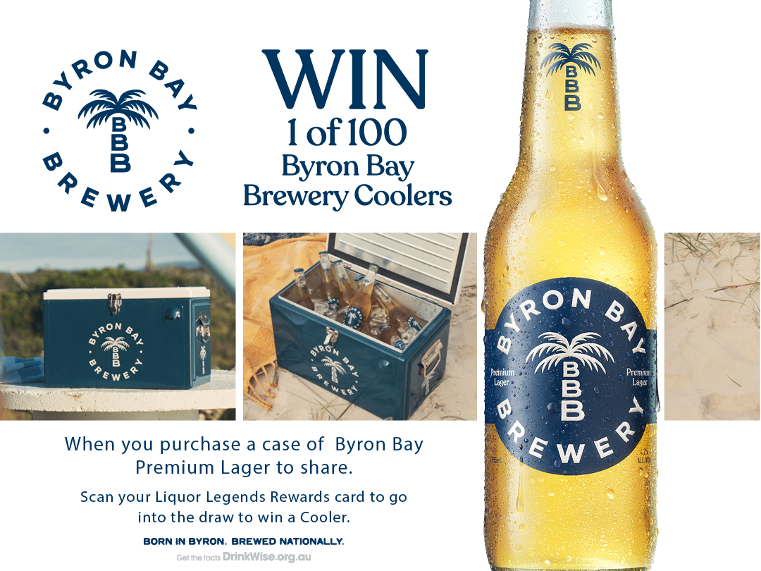 Byron Bay Brewery Coolers